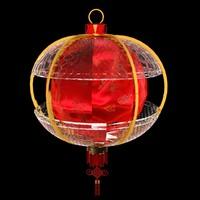 maya chinese red lantern