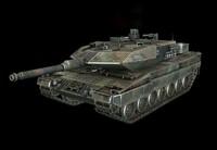 Leopard2_A6 Tank