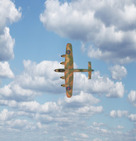 3d lancaster military airplane