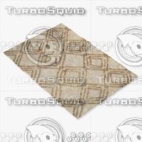 amara rug moroccan 9041 3d 3ds