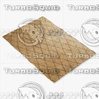 amara rug moroccan 9052 3d model