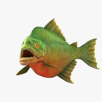 piranha 3d max
