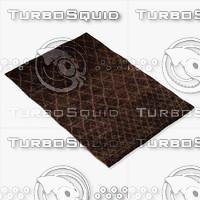 amara rug moroccan 9056 3d 3ds