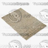 3d amara rug moroccan model