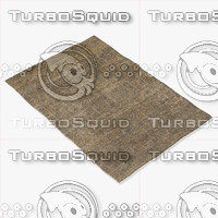 amara rug moroccan 9064 3d model