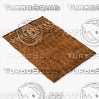 3d model of amara rug moroccan 9066