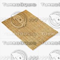 amara rug moroccan 9068 3d 3ds