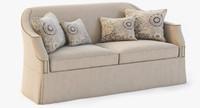 eton short sofa 3d model