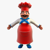 maya chef cartoon character