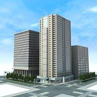 City Cityscape Block
