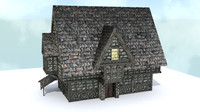 Medieval City House 1