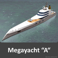 3d megayacht designed philippe model