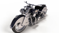 Indian Chief 1948 classic motorcycle