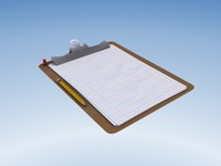 max clipboard pencil