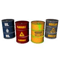 dangerous barrels 3d max