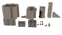 3dsmax medieval castle