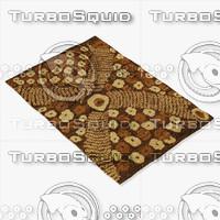 amara rug flat weave 3d 3ds