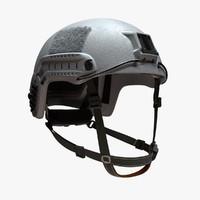 3d ballistic military helmet model