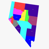 3d nevada counties