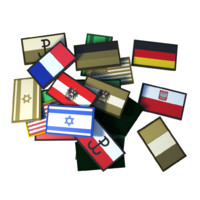 velcro flag patches 3d obj