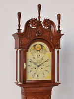 carved clock max