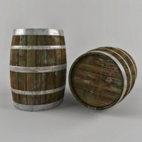 3dsmax old dirty cask