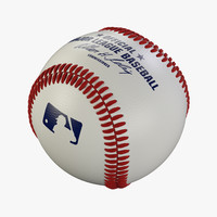 baseball leather stitches 3d 3ds