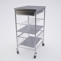 kitchen cart 3d model