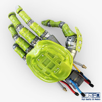 3ds max bio robotic hand v