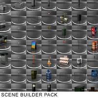 3d model of scene pack