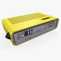 x flip clock radio