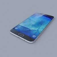 samsung galaxy a8 black 3d ma