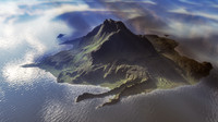 3dsmax island landscape