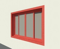 Double Glass Sliding Window