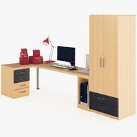 workspace furnishing desktop computer max