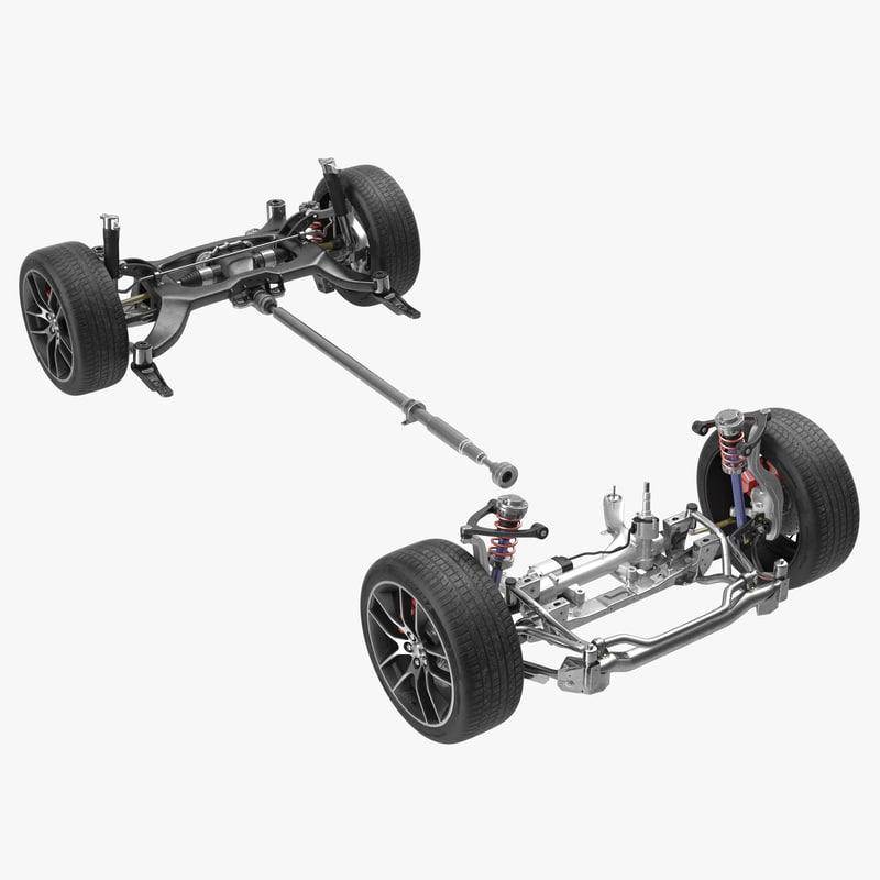 3d model of Sedan Drivetrain 00.jpg