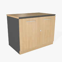 office cabinet 3d 3ds