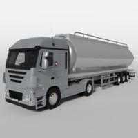 3d fuel truck