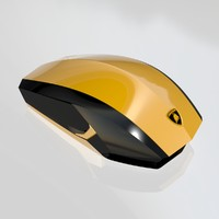 3d model aventador mouse concept