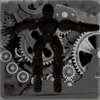 robot modelling 3d obj