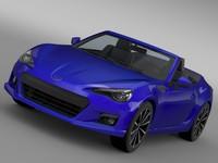lightwave subaru brz zc6 cabrio
