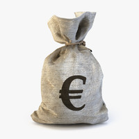 money bag euro ma
