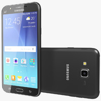 realistic samsung galaxy j7 3d model