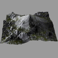 professional terrain heightmap fbx
