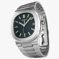 patek nautilus watches 3d max