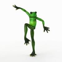 Frog 2 Statuette