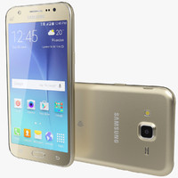 3d realistic samsung galaxy j5 model