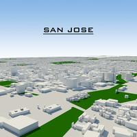 3ds max san jose cityscape