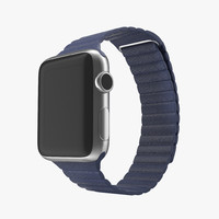 3d model of apple watch 38mm magnetic