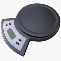 digital kitchen scale obj